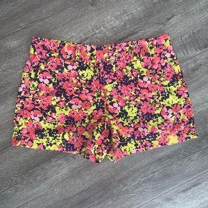 Ann Taylor LOFT Linen Shorts